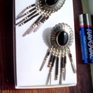 Jewelry - Vintage Native American Sterling Silver pierced